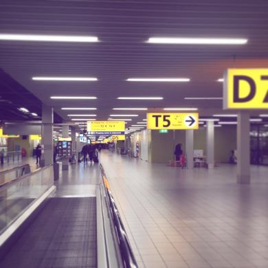 Letiště Amsterdam