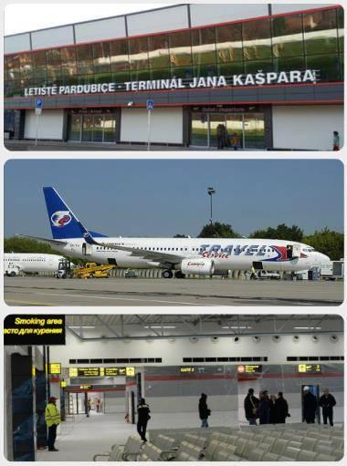 Letiště pardubice přílety odlety