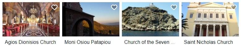 Starodávné kostely a kláštery Řecko