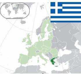 poloha řeckých ostrovů na mapě evropy