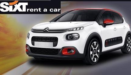Autopůjčovna Sixt půjčti auto