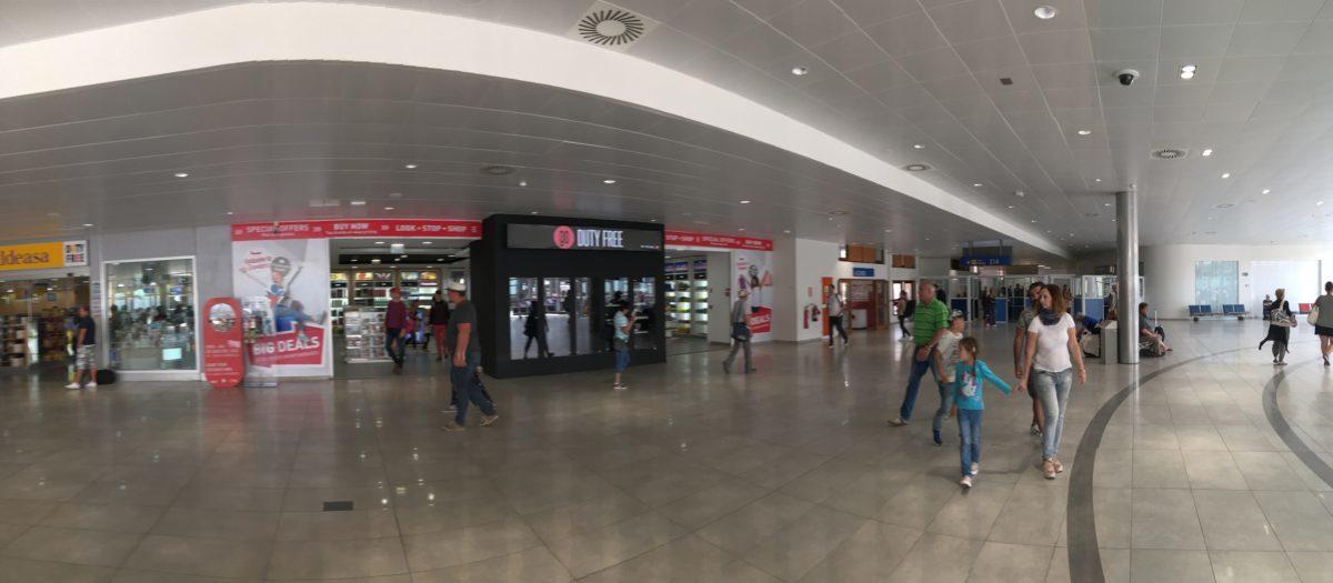Duty free obchody na letišti Sal, Kapverdy