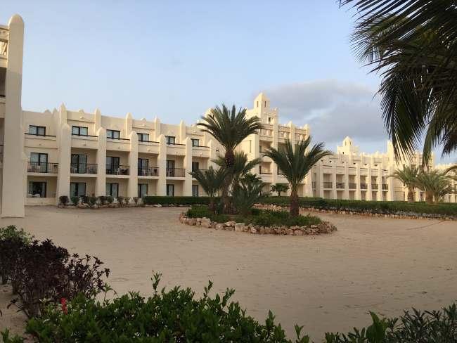 Krásný vzhled hotelu Riu Karamboa, Kapverdy ostrov Boa Vista