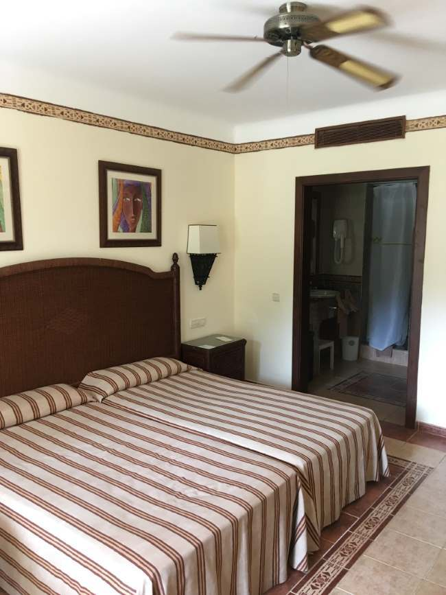 Náš hotelový pokoj, Kapverdy ostrov Boa Vista