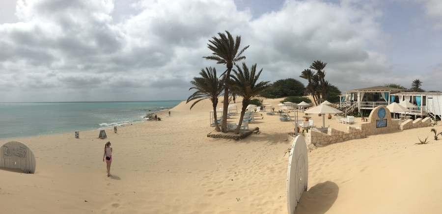 Pláž, hotel Iberostar Club Boa Vista, Kapverdy
