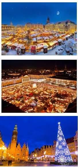 Vánoční trhy Krakow