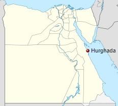 Hurghada kde leží a poloha