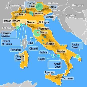 Nejhezčí pláže Itálie