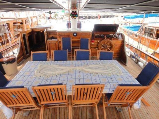 Paluba na lodi, Plná penze v ceně zájezdu