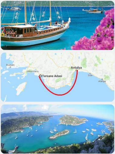 Plavba lodí Turecko