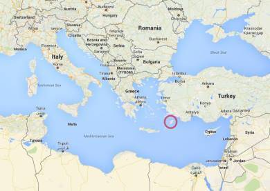 Rhodos Mapa Online Mapy Ke Stazeni Recky Ostrov