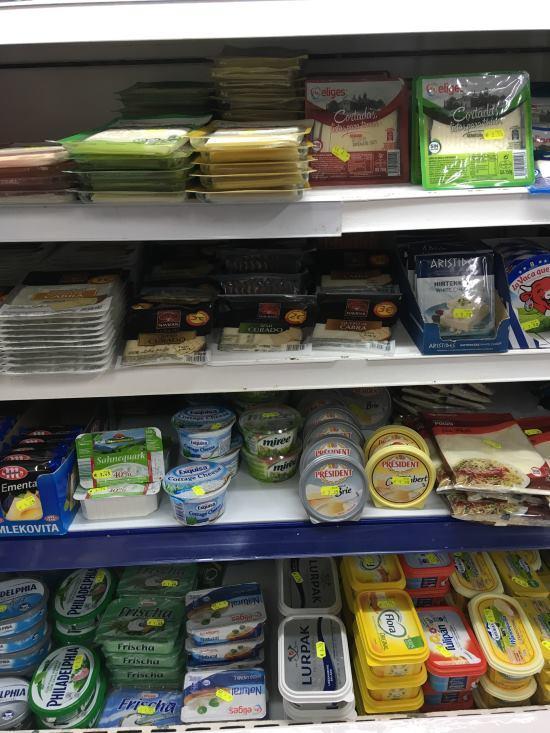 Ceny potravin Mallorca