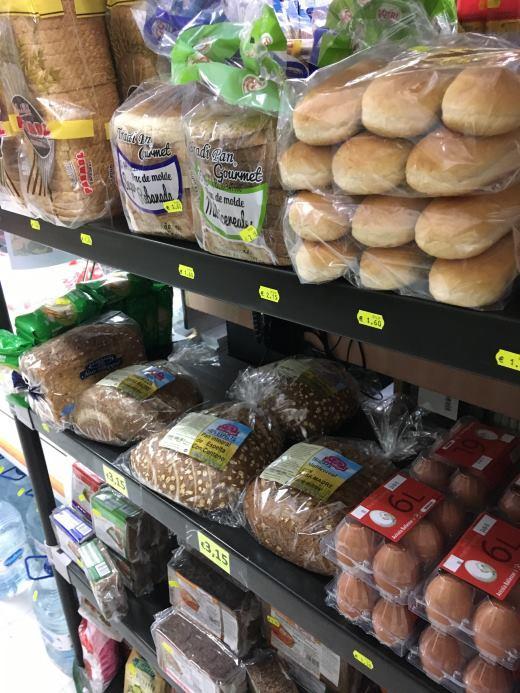 Ceny potravin pečiva Malorka