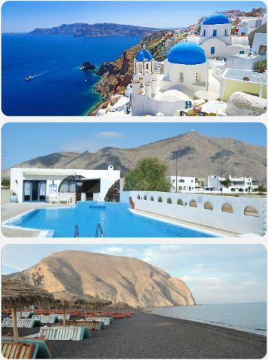 Dovolená Ostrov Santorini nejlevnější zájezd