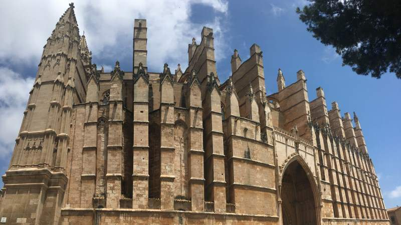 Katedrála Panny Marie Palma de Mallorca