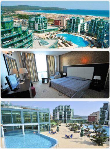 Primorsko luxusní hotel dovolen a zájezdy