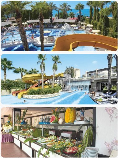 Turecko luxusní all inclusive dovolená