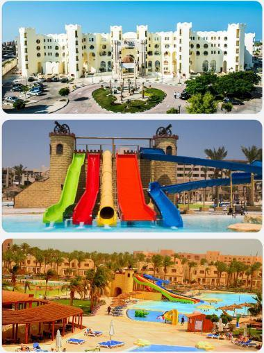 Egypt luxusní palác aqua park zájezd