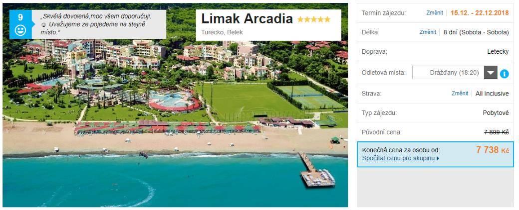 Pětihvězdičková all inclusive dovolená v Turecku