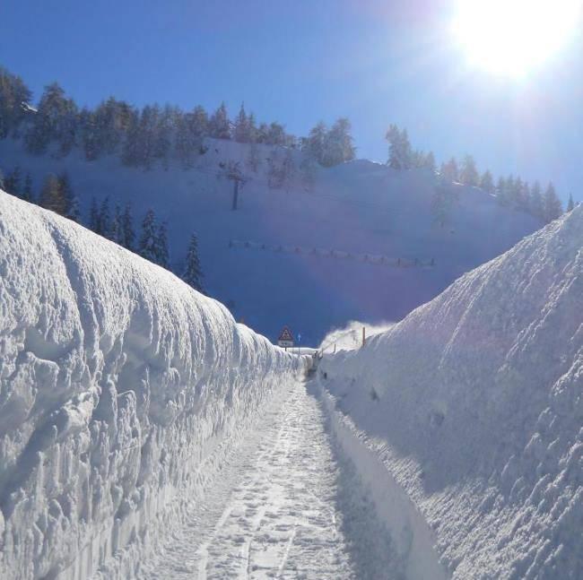 Sníh je zde samozřejmostí