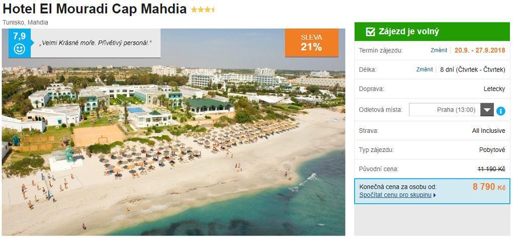 Tunisko All Inclusive dovolená zájezdy