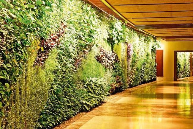 Vnitřní interiér hotelu Sofitel v Dubaji