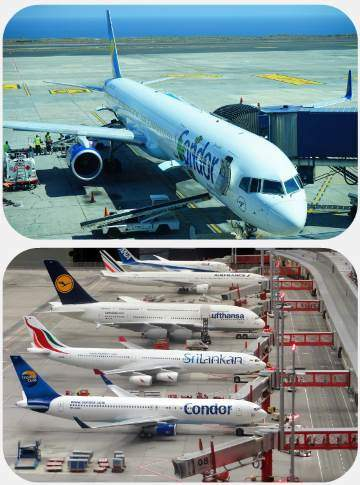 Condor Airlines zpožděný zrušený let