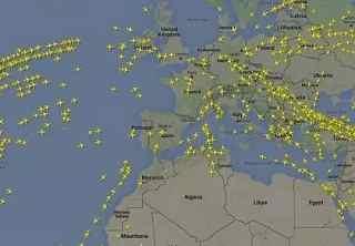 Flightradar24 Letovy Provoz Online Lety Letecky Radar