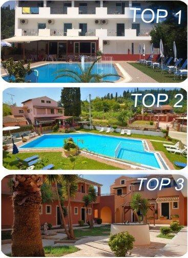 TOP 3 hotely na ostrově Korfu nejlevnější