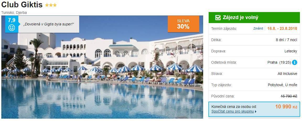 Tunisko nejlepe hodnoceny hotel