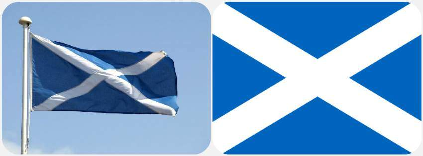 Vlajka Skotska