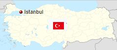 Kde leží Istanbul poloha města v rámci Turecka