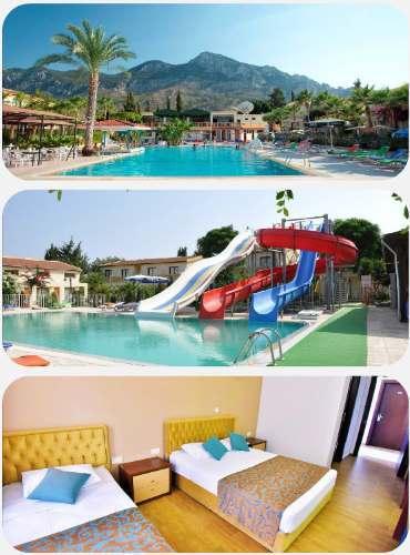 Kypr hotel s tobogánem