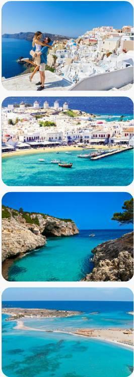 Nejkrásnější ostrovy Řecka