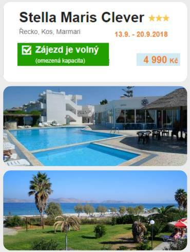 Ostrov Kos řecko září