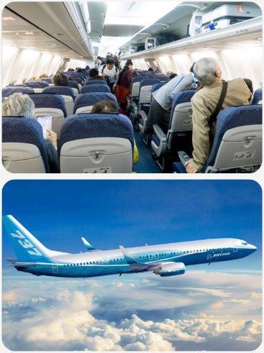 Plán sedadel Boeing 737