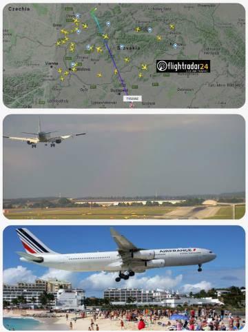 Sledovanie letov – lietadlá na mape