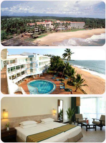Srí Lanka hotel na pláži