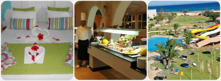 Tunisko Magic Venus aquapark hotel recenze