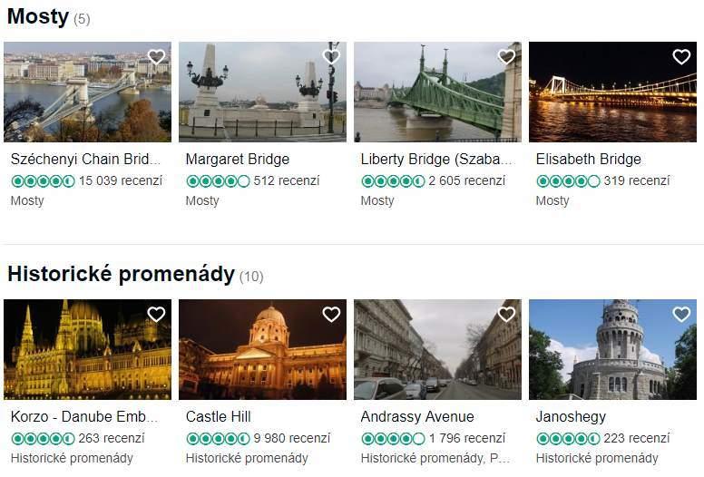 Co vidět a navštívit v Budapešti