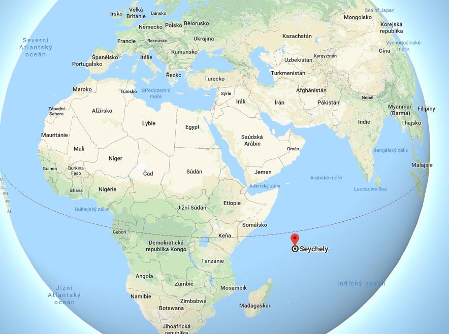 Kde leží Seychely na mapě světa aneb jejich poloha