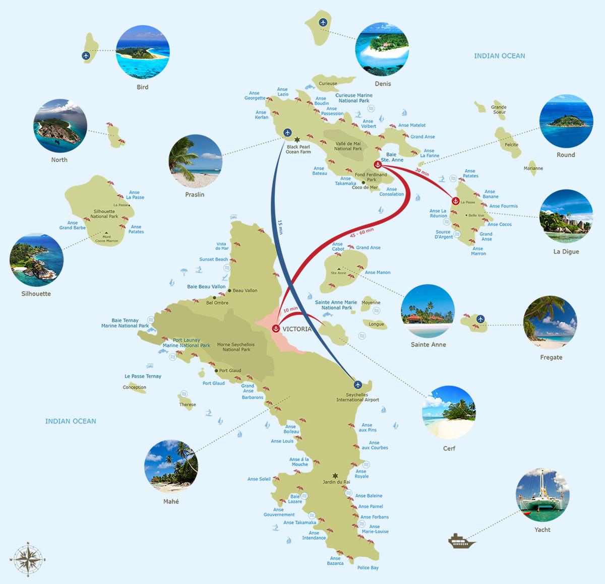Seychely Mapa Online Ke Stazeni Kde Lezi Seychely