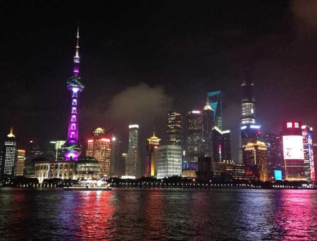 Noční Šanghaj