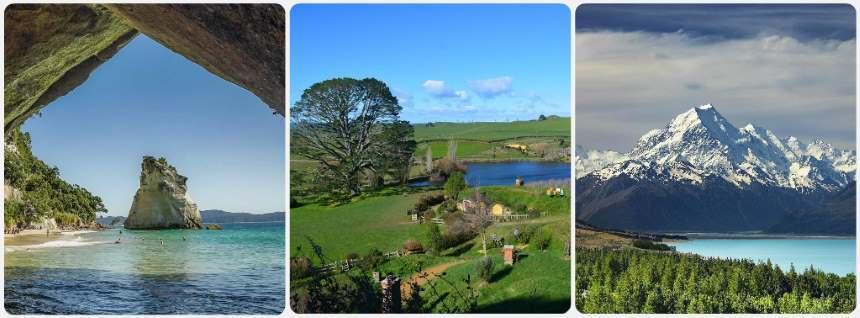 Nové Zéland turistické informace