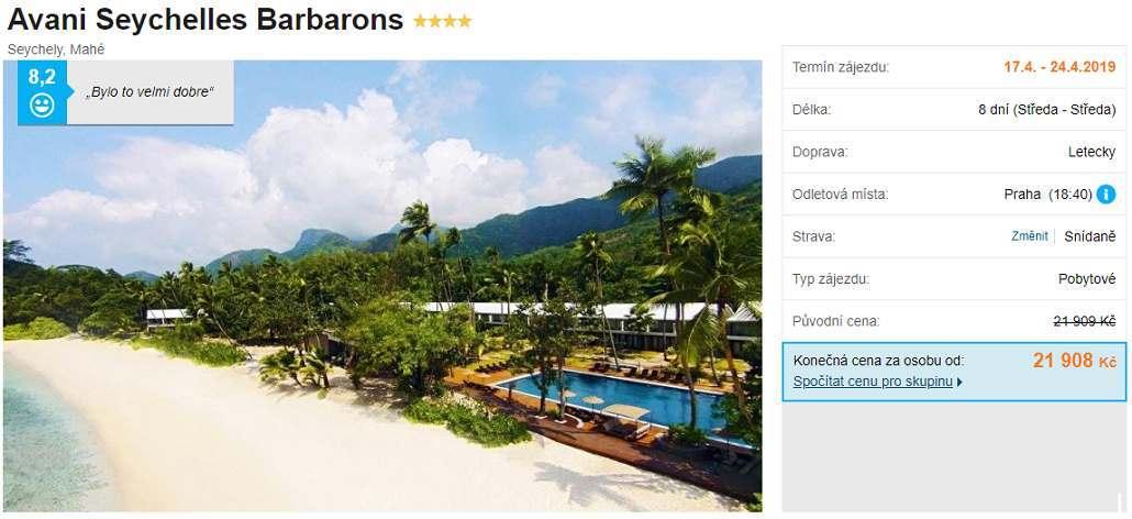 Seychely dovolená a zájezdy