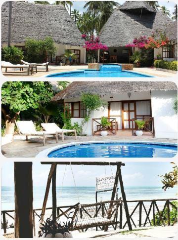 Zanzibar ostrov dovolená exotická
