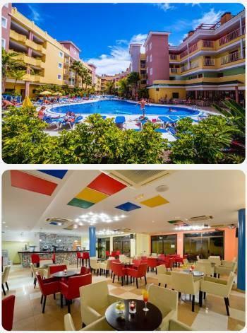 Costa Caleta hotel na Kanárských ostrovech v prosinci
