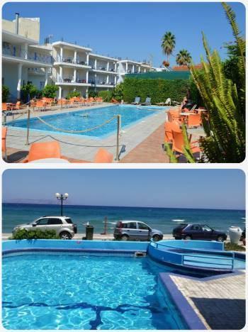 Dva levné hotely v Řecku