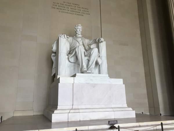 Lincolnův památník ve Washingtonu