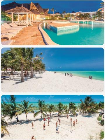 Krásný hotel Keňa Afrika levně